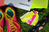 Packets of energy gels in marathon kit