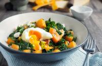 Sautéed Veggies Avocado Poached eggs