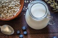 Milk made of oats is oat milk